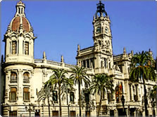 City Hall in Valencia